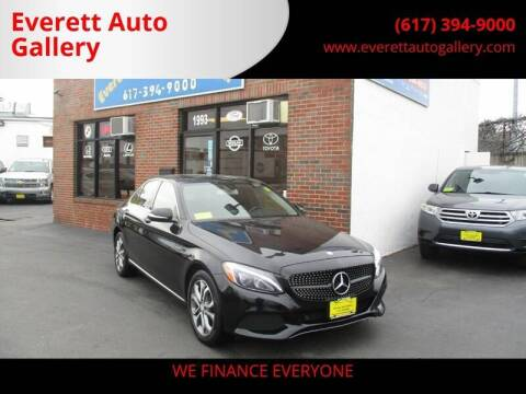 2015 Mercedes-Benz C-Class for sale at Everett Auto Gallery in Everett MA