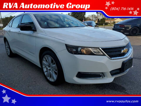 2014 Chevrolet Impala for sale at RVA Automotive Group in North Chesterfield VA