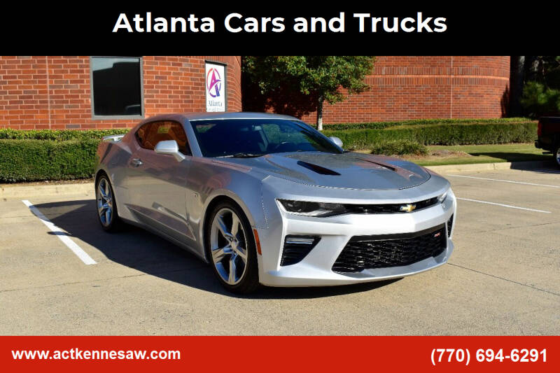 2017 Chevrolet Camaro for sale at Atlanta Cars and Trucks in Kennesaw GA