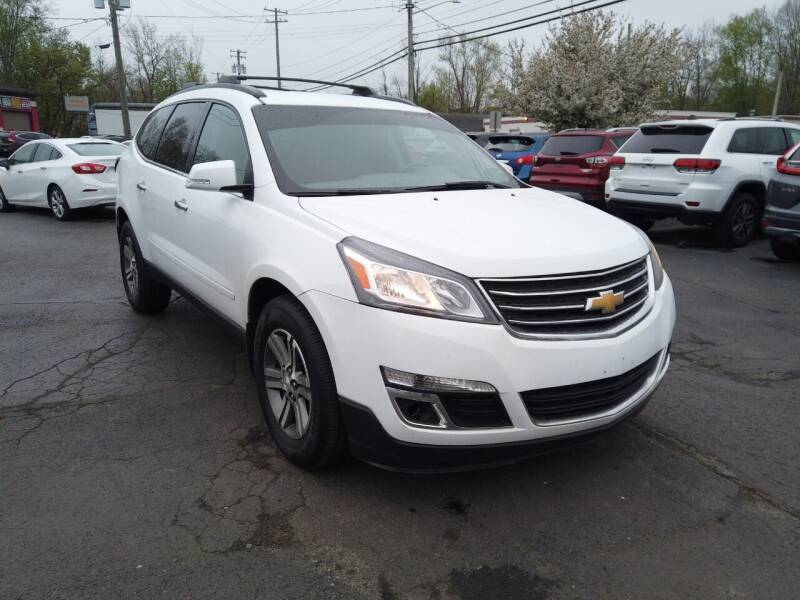 2016 Chevrolet Traverse for sale at RS Motors in Falconer NY