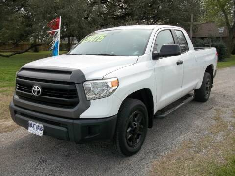 2014 Toyota Tundra for sale at Hartman's Auto Sales in Victoria TX