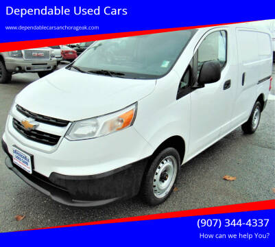 2015 Chevrolet City Express Cargo for sale at Dependable Used Cars in Anchorage AK
