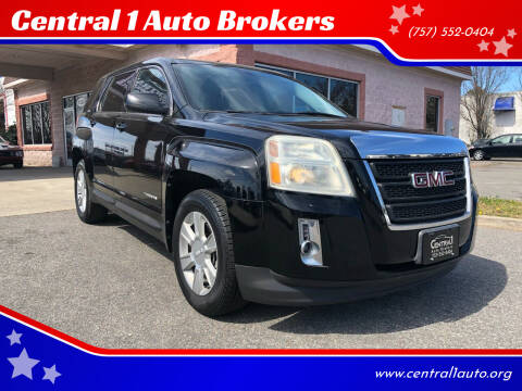 2010 GMC Terrain for sale at Central 1 Auto Brokers in Virginia Beach VA