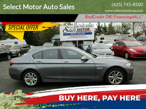2015 BMW 5 Series for sale at Select Motor Auto Sales in Lynnwood WA