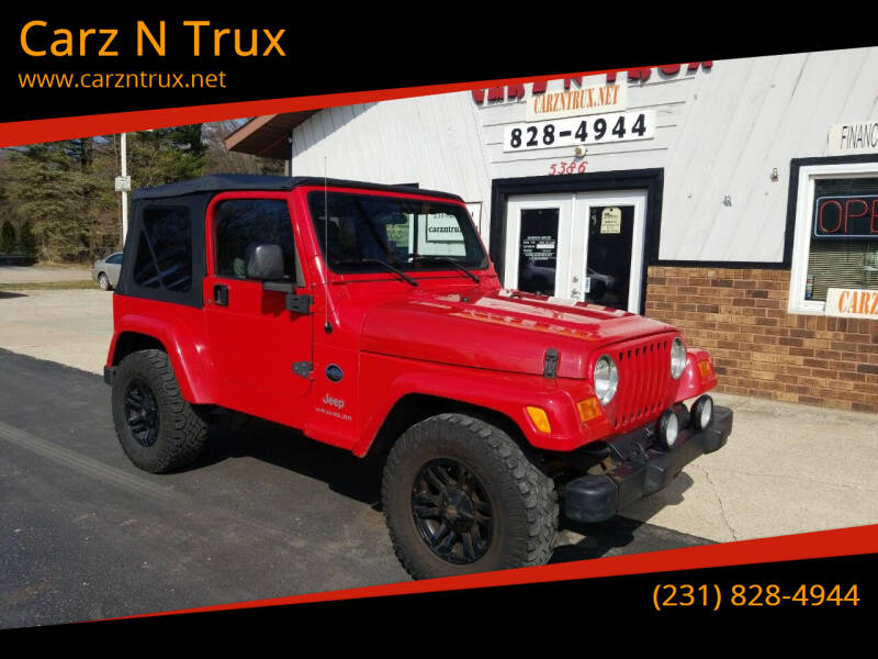 2005 Jeep Wrangler for sale at Carz N Trux in Twin Lake MI