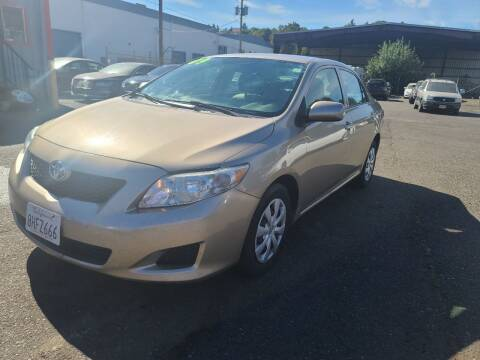 2009 Toyota Corolla for sale at Kingz Auto LLC in Portland OR