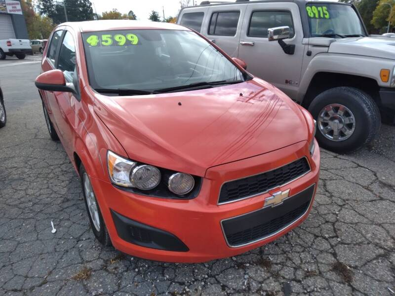 2012 Chevrolet Sonic for sale at D & D All American Auto Sales in Mt Clemens MI