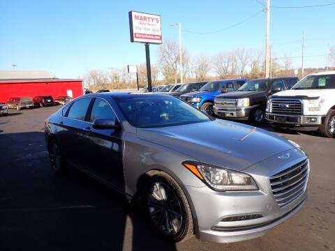 2015 Hyundai Genesis for sale at Marty's Auto Sales in Savage MN