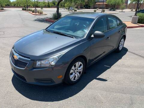2013 Chevrolet Cruze for sale at San Tan Motors in Queen Creek AZ