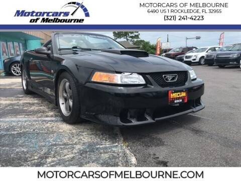 2002 Ford Mustang for sale at Motorcars of Melbourne in Rockledge FL