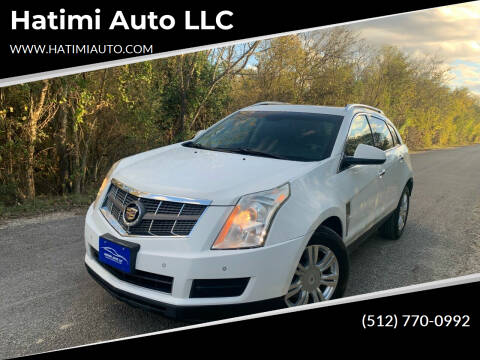 2012 Cadillac SRX for sale at Hatimi Auto LLC in Buda TX