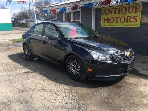 2012 Chevrolet Cruze for sale at Antique Motors in Plymouth IN