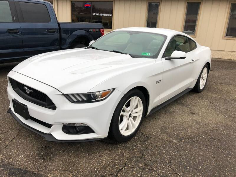 2016 Ford Mustang for sale at Matt Jones Preowned Auto in Wheeling WV