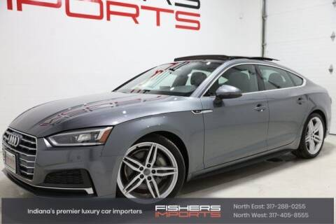 2018 Audi A5 Sportback for sale at Fishers Imports in Fishers IN