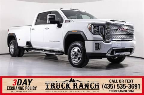 2021 GMC Sierra 3500HD for sale at Truck Ranch in Logan UT