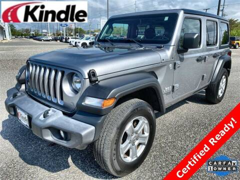 2018 Jeep Wrangler Unlimited for sale at Kindle Auto Plaza in Middle Township NJ