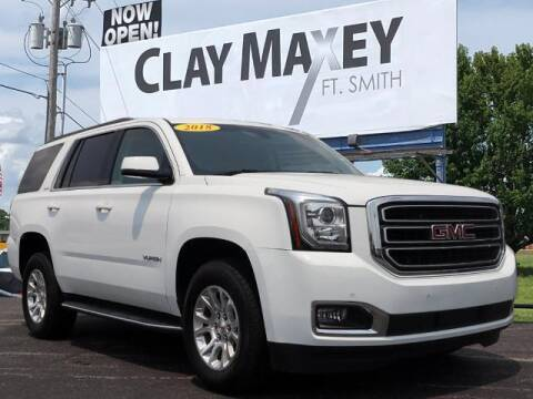 2018 GMC Yukon for sale at Clay Maxey Fort Smith in Fort Smith AR