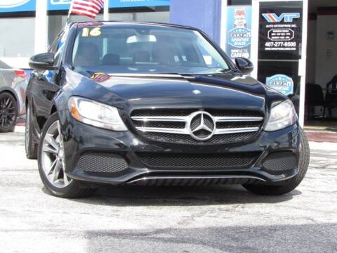 2016 Mercedes-Benz C-Class for sale at VIP AUTO ENTERPRISE INC. in Orlando FL