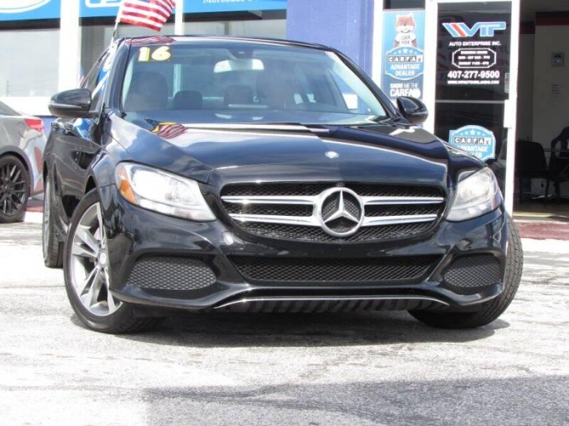 2016 Mercedes-Benz C-Class for sale at VIP AUTO ENTERPRISE INC. in Orlando FL