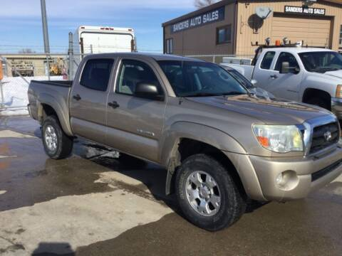 2005 Toyota Tacoma for sale at Sanders Auto Sales in Lincoln NE