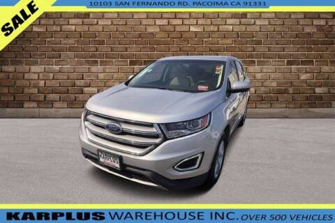 2018 Ford Edge for sale at Karplus Warehouse in Pacoima CA