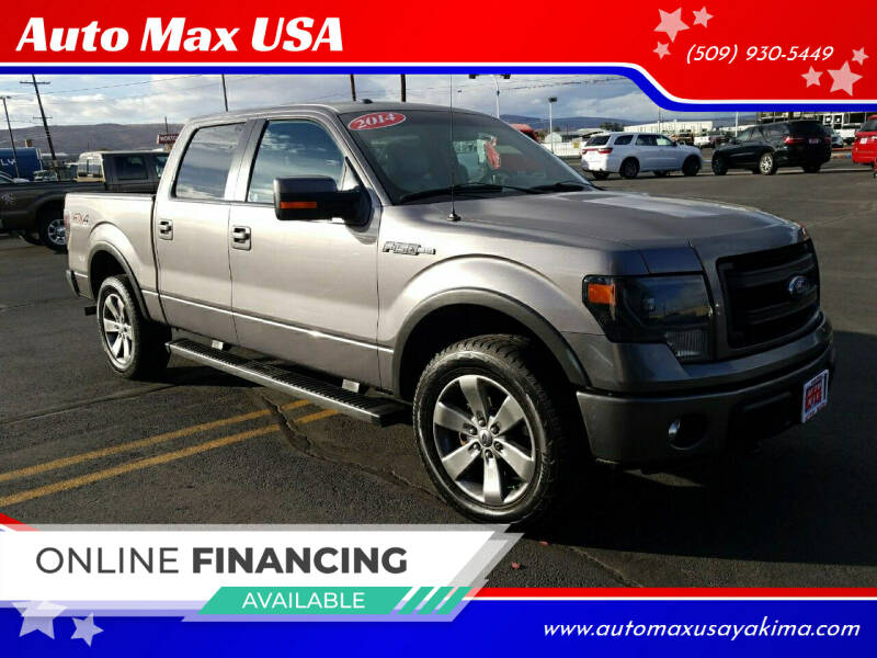 2014 Ford F-150 for sale at Auto Max USA in Yakima WA