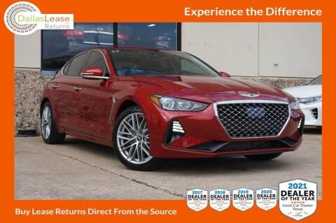 2020 Genesis G70 for sale at Dallas Auto Finance in Dallas TX