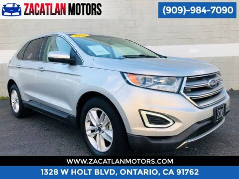 2015 Ford Edge for sale at Ontario Auto Square in Ontario CA