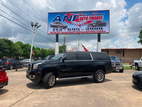 2015 GMC Yukon XL for sale at ANF AUTO FINANCE in Houston TX