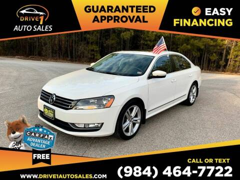 2015 Volkswagen Passat for sale at Drive 1 Auto Sales in Wake Forest NC