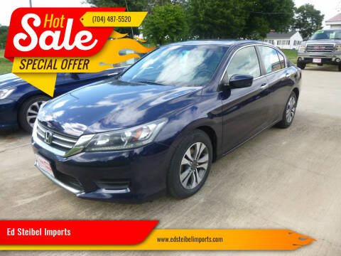 2013 Honda Accord for sale at Ed Steibel Imports in Shelby NC