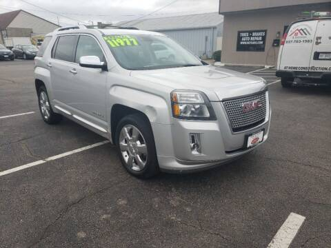 2013 GMC Terrain for sale at Used Car Factory Sales & Service Troy in Troy OH