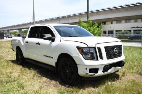 2018 Nissan Titan for sale at AE Of Miami in Miami FL