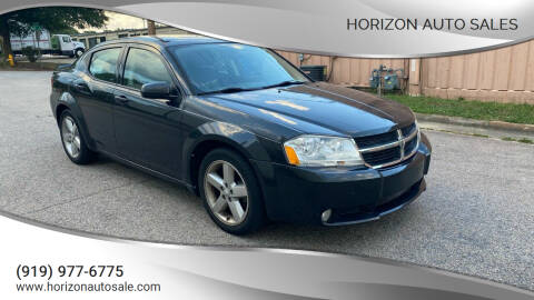 2010 Dodge Avenger for sale at Horizon Auto Sales in Raleigh NC