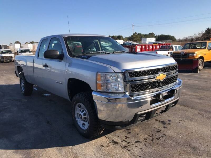 2012 Chevrolet 2500 HD 4X4 EXT CAB LB for sale at CARGO VAN GO.COM in Shakopee MN