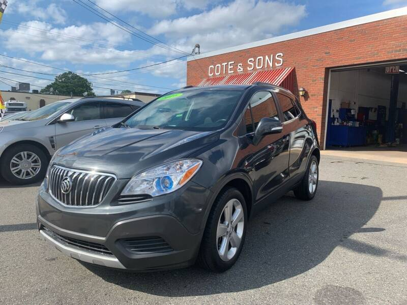2016 Buick Encore for sale at Cote & Sons Automotive Ctr in Lawrence MA