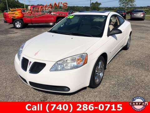 2006 Pontiac G6 for sale at Carmans Used Cars & Trucks in Jackson OH