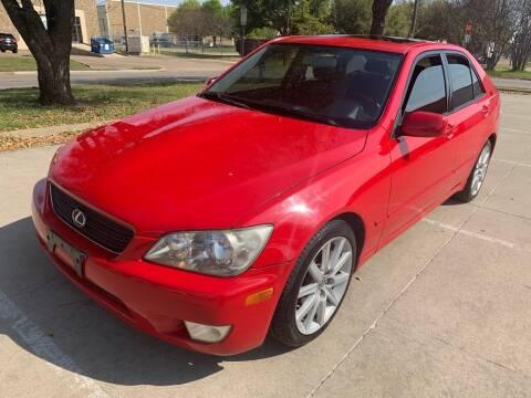 2002 Lexus IS 300 for sale at Vitas Car Sales in Dallas TX