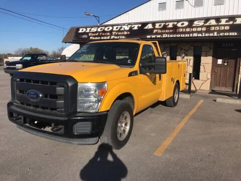 2011 Ford F-250 Super Duty for sale at Discount Auto Sales in Wichita KS