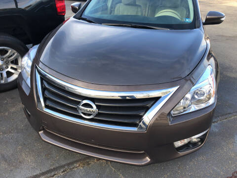 2013 Nissan Altima for sale at Berwyn S Detweiler Sales & Service in Uniontown PA