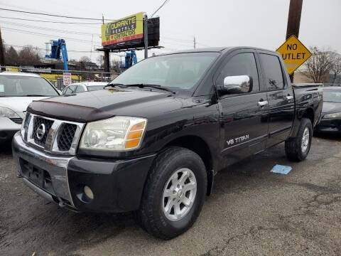 2005 Nissan Titan for sale at MENNE AUTO SALES in Hasbrouck Heights NJ