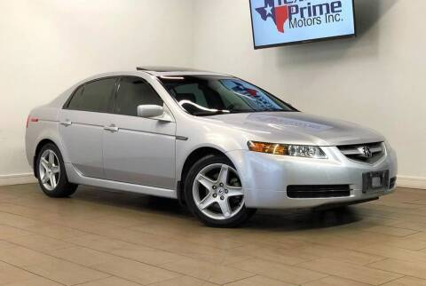 2004 Acura TL for sale at Texas Prime Motors in Houston TX