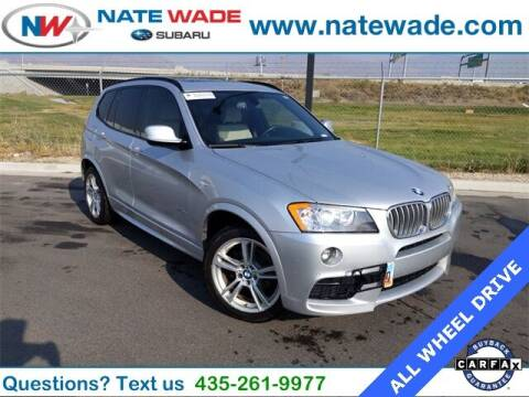 2013 BMW X3 for sale at NATE WADE SUBARU in Salt Lake City UT
