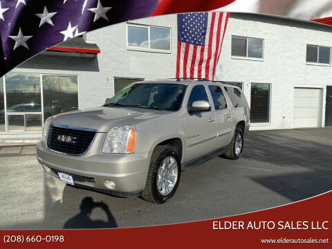 2007 GMC Yukon XL for sale at ELDER AUTO SALES LLC in Coeur D'Alene ID