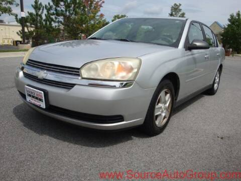 2004 Chevrolet Malibu for sale at Source Auto Group in Lanham MD