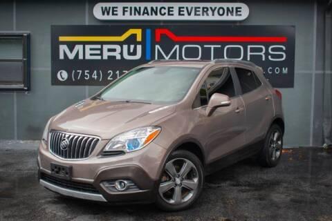 2014 Buick Encore for sale at Meru Motors in Hollywood FL