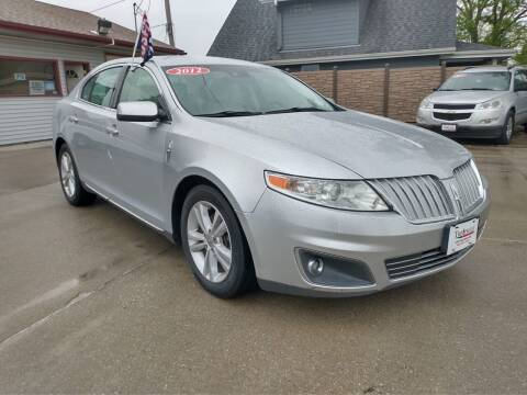 2012 Lincoln MKS for sale at Triangle Auto Sales in Omaha NE