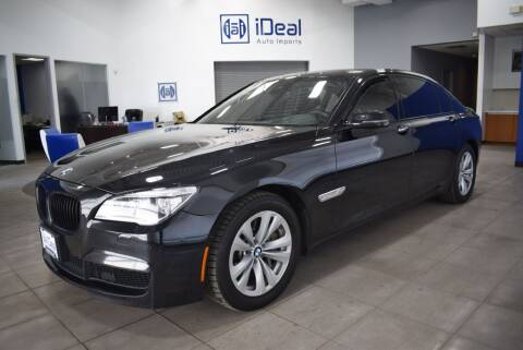 2014 BMW 7 Series for sale at iDeal Auto Imports in Eden Prairie MN