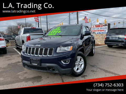 2015 Jeep Grand Cherokee for sale at L.A. Trading Co. in Woodhaven MI