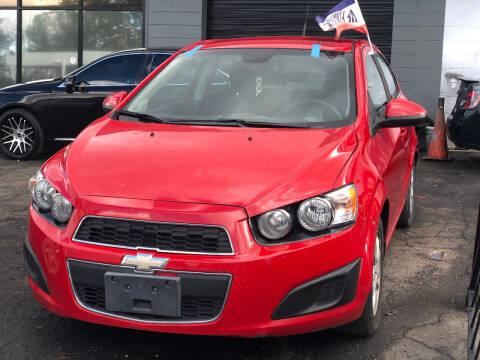 2013 Chevrolet Sonic for sale at TEAM AUTO SALES in Atlanta GA